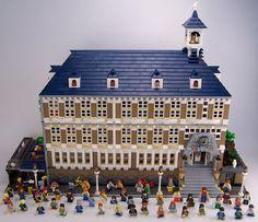 LEGO modular school