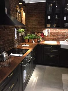 Best Modern Kitchen Interior Designs To Inspire You - Best Modern K. - Best Modern Kitchen Interior Designs To Inspire You – Best Modern Kitchen Interior D - Best Kitchen Cabinets, Kitchen Cabinet Design, Interior Design Kitchen, Farmhouse Kitchen Decor, Home Decor Kitchen, New Kitchen, Kitchen Black, Kitchen Ideas, Kitchen Wood