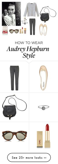 """""""Untitled #1670"""" by girlinlondon on Polyvore featuring Bardot, Repetto, Wouters & Hendrix, Yves Saint Laurent, Ladurée and Le Specs"""