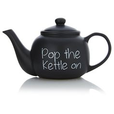 George Home Chalked Teapot