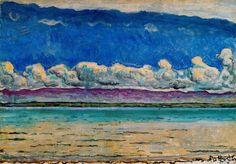 Lac de Ferdinand Hodler (1853-1918, Switzerland)