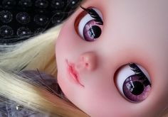 OOAK SA Hand-painted 12Blythe eyechips  P01 by SAEYECHIP on Etsy