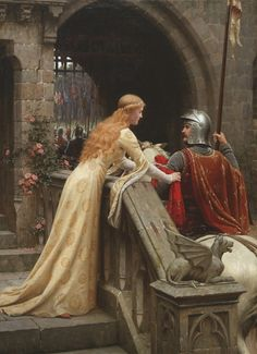 What is the Difference Between Medieval and Renaissance Literature? Medieval Literature focused on religion, courtly love, unlike Renaissance Literature. Courtly Love, John William Waterhouse, Medieval Wedding, Pre Raphaelite, Chivalry, Art Plastique, Middle Ages, Oeuvre D'art, Art History