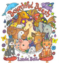 A personal favourite from my Etsy shop https://www.etsy.com/nz/listing/564217331/a-colouring-book-for-the-love-of-animals