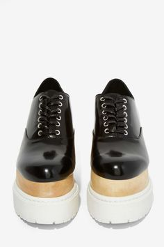 Jeffrey Campbell Rockwood Box Leather Platform | Shop Shoes at Nasty Gal!