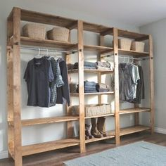Wonderful Wardrobe and Clothing Rack Projects