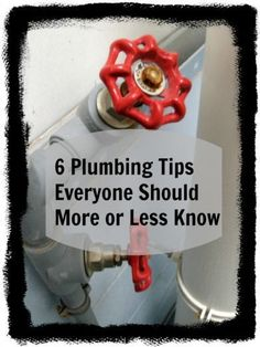 Six Helpful #Plumbing_Tips - Whether you just purchased your first home or you're a long-term homeowner, knowing some basic plumbing tips can help save you time and money. You should know the difference between a small #plumbing_issue and problems that need #professional_repair.
