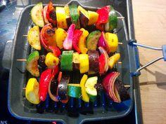 renate goes vegan: Gemüsespieße