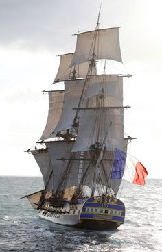 Bonjour and Happy Bastille Day. The French frigate hermione visits Castine Maine today - settled by the French Acadians 7 years before…