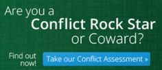 Are you a conflict Rock Star or Coward?