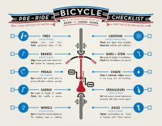 Checklista innan du greppar cykelstyret