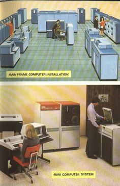Giant computers (hot hot hot!)
