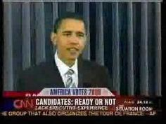 You have to see it to believe it.  Many of Barack Obama's critics have said that he lacks experience and is not ready to be president, but this video shows Obama himself questioning whether or not he is ready.      Commentary Analysis Documentary Gotcha! Grassroots Outreach News Media Fox Politics Political Commercial Race Religion Church Pastor...