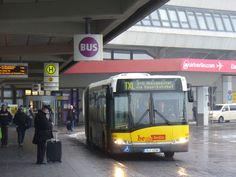 Berlin Bushaltestelle | UUU8424 : Flughafen-Tegel - Busbahnhof (Tegel Airport - Bus Terminus)