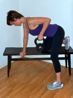 """Back Fat Be Gone! 3 Steps To Combatting Bra Bulge..."" I'm pinning not because I need to remember this but because these types of exercises have worked for me to reduce back fat. #I'minmylate40's"