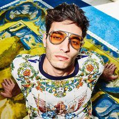 Dolce   Gabbana Eyewear · Orange is the new black. Brighten up your day  with Dolce Gabbana Empty cut sunnies! 8fe3b3cb59