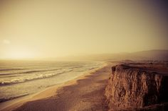 Half Moon Bay, California (aka my favorite place in the world) Places To Travel, Places To See, Half Moon Bay California, Rivers And Roads, Beautiful Beaches, Beautiful Things, Surfing, Around The Worlds, Sunset