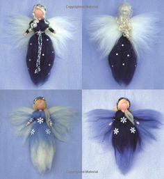 Image gallery – Page 82964818114956559 – Artofit Wool Dolls, Felt Dolls, Felt Angel, Felt Pictures, Needle Felting Tutorials, Felt Fairy, Flower Fairies, Fairy Dolls, Felt Christmas