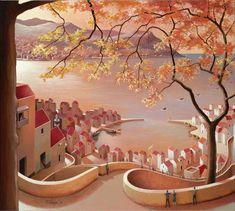Michiel Schrijver - In between two worlds. 90 x 100 cm. 2013