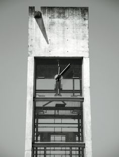 Australian Residence- Conceptual Precedent Study. Stairs as Object. Portugese Clock Tower, viewing the stair as element as a separate, vertical object in the massing emphasizes its function. The clock tower abstractly demonstrates the notion of separately expressing contained function.