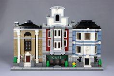 "mini modular   LEGO Mini Modulars MOC: ""Café Royal"""