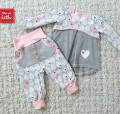 Baby Clothing sewn-by-kaethe …: sewing, sewing machine, baby, girl, pants K … - Kindermode Sewing Kids Clothes, Sewing For Kids, Doll Clothes, Vêtements Goth Pastel, Baby Girl Fashion, Kids Fashion, Vêtement Harris Tweed, Baby Outfits, Kids Outfits