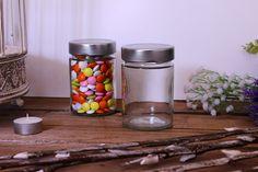 Βαζάκι Γυάλινο Ergo 314ml ΒΤΕ007 Mason Jars, Mason Jar, Jars