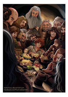 An Unexpected Party by momofukuu.deviantart.com on @deviantART #hobbit #fanart
