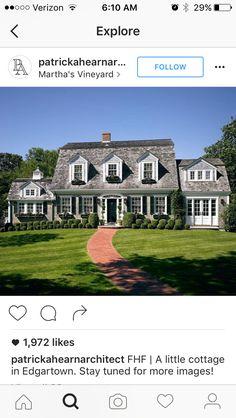 69 best cape cod style houses images exterior homes cape cod rh pinterest com Victorian Style House Tudor Style House