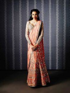 8 Amazing Online Stores For Stunning Bridal Lehengas