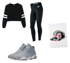 """First day of school"" by lilcarmelmami on Polyvore featuring NIKE and Kill Brand"