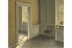 Vilhelm Hammershøi - Bedroom, Strandgade 30 - 1906