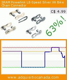 SRAM Powerlink L8-Speed Silver X4 Bike Chain Connector (Sports). Drop 63%! Current price C$ 4.99, the previous price was C$ 13.56. https://www.adquisitiocanada.com/sram/powerlink-l8-speed-silver