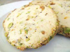 Pistachio Cardamom Cookies - Baked by Joanna  http://www.bakedbyjoanna.com/2011/05/pistachio-cardamom-cookies.html#