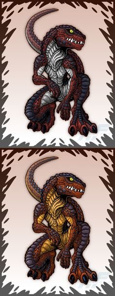 Trendmasters Baby Godzillas by AlmightyRayzilla on DeviantArt