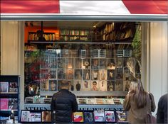 Atheneum Nieuwscentrum / Boekhandel at Spui in Amsterdam #shopping #amsterdam #bookshop