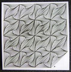Zentangle - paradox moves......