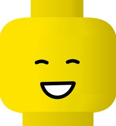 Image Detail for - Lego clip art - vector clip art online, royalty free & public domain Lego Faces, Guppies, Smiley Happy, Lego Head, Lego Club, Lego Birthday Party, Lego Storage, Kids Patterns, Yellow Pattern