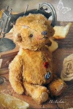 Vintage style Teddy bear
