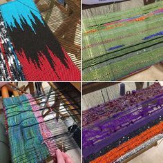 "122 Likes, 4 Comments - SAORI Salt Spring Weaving (@saorisaltspring) on Instagram: ""SAORI Weaving at ANWG  #saoriweaving #anwg2017 #weaving #workshop #uvic #yyj #yyjarts #combreed…"""