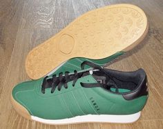 NEW ADIDAS SAMOA Originals MENS 11 Green Black Vintage Rom NWT #adidas #Athletic
