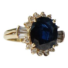 Vintage Jewelry Deco X Diamond and Sapphire Ring No Heat Ceylon, Color Change Sapphire and Diamond Ring Edwardian Platinum Sapphire Jewelry, Sapphire Diamond, Diamond Jewelry, Gemstone Jewelry, Antique Jewelry, Vintage Jewelry, Round Diamond Ring, White Gold Rings, Beautiful Rings