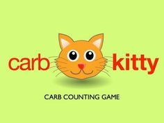 "Carbohydrates (""carbs"") can be counted 2 ways: by grams or by carb choices. Remember: 1 carb choice = 15 grams of carbohydrate. Divabetic's educational game, Carb Kitty Game, makes counting carbs fun. Morning Cartoon, Cartoon Fun, Counting Carbs, Health Fair, Nutrition Classes, Kitty Games, Prevent Diabetes, Type 1 Diabetes, Diabetic Friendly"
