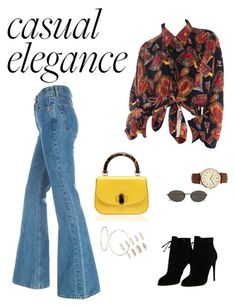 """""""lets be casual"""" by ciciliadewintastanim on Polyvore featuring Tom Ford, GUESS, Ann Demeulemeester, BKE and Forever 21"""