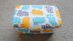 Hippos Boutique Style Nursery Wipe Case by by LauraLeeDesigns108, $14.99