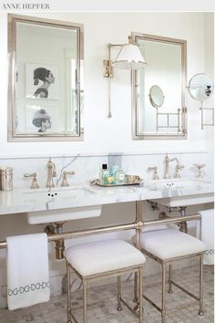 Marble Bathroom, Anne Hepfer, Metal Washstands, Bathroom Inspiration, Bathroom Decor, Bathroom Interior Design, Bathroom Renovation