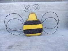 SAWDUST SANITY- wooden bee!