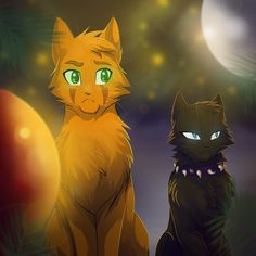 Firestar and Scourge Half-brothers both have the same dad