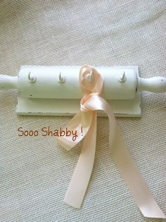 Vintage Rolling Pin Wood Key Holder/Shabby by MariasFarmhouse, $12.00