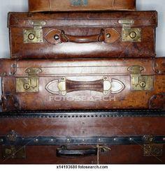 Anciennes valises